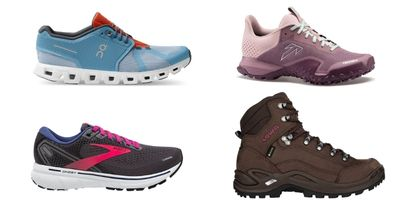 Running-, Outdoor- & Lifestyle Shoes