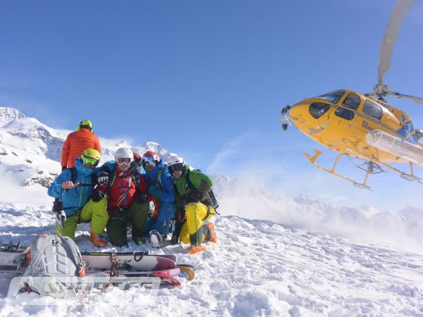 Heli & Ride Woche Monterosa / Gressoney Royale I