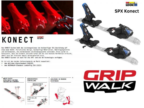 Dynastar Speed Zone 12 Ti & Look SPX 12 KONECT GW bindings 20/21