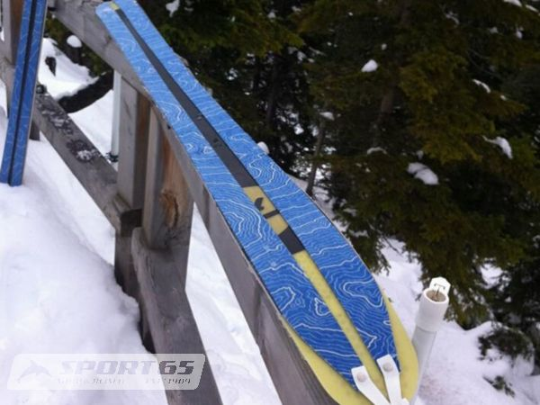 Contour Hybrid FAT Free Splitskins for Freerideskis