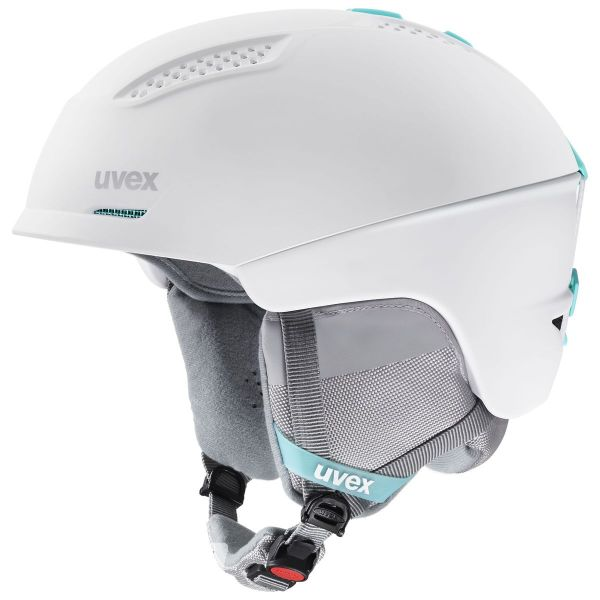 Uvex Ultra Skihelm, white mint