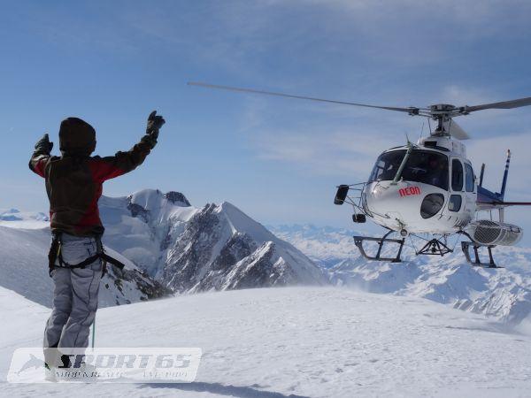 Heli & Ride Tage Matterhorn Cervinia-Zermatt Special